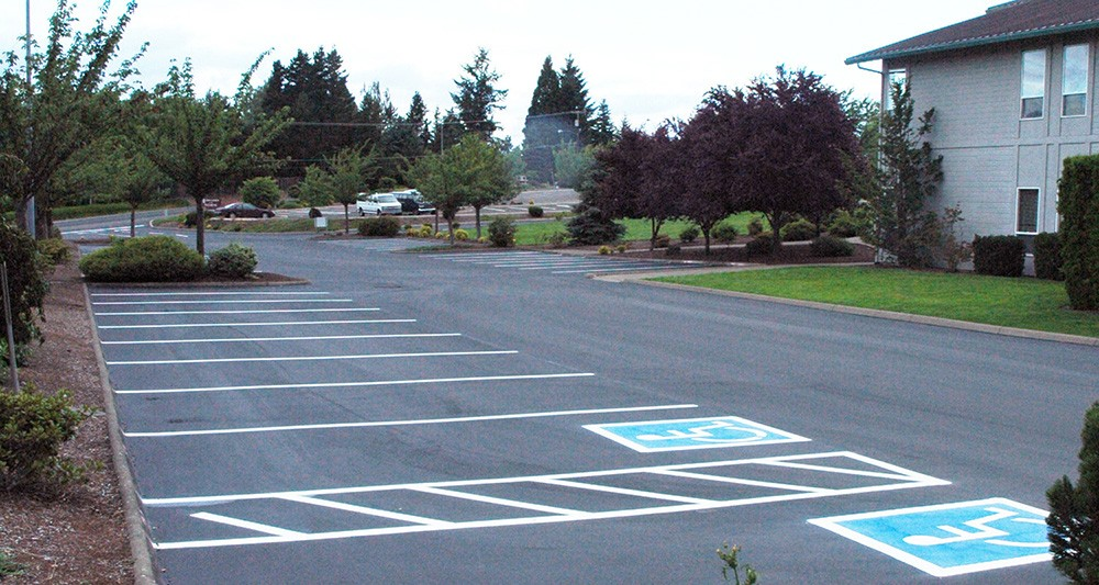 Seal Coating Asphalt Maintenance Repair Crack Filling Striping Salem Oregon Willamette Valley